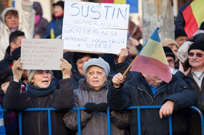 """Primarii PSD au """"normă"""" pentru protestul din Piteşti"""