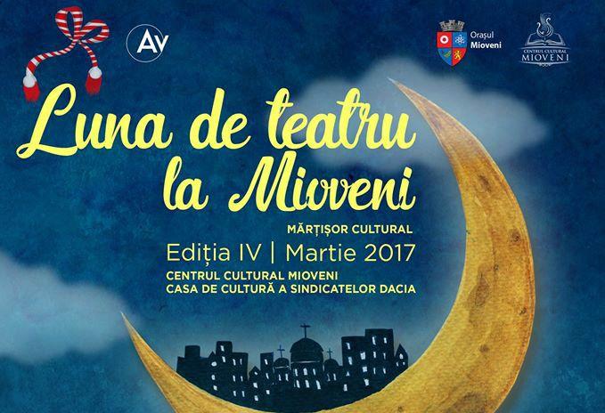 """S-au pus în vânzare primele bilete pentru """"Luna de Teatru"""" de la Mioveni!"""