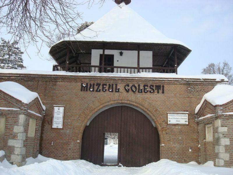 Dragobetele - la muzeul Goleşti