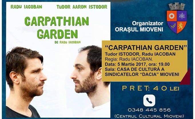 """Se deschide Festivalul Naţional de Teatru -""""Luna de Teatru la Mioveni"""""""