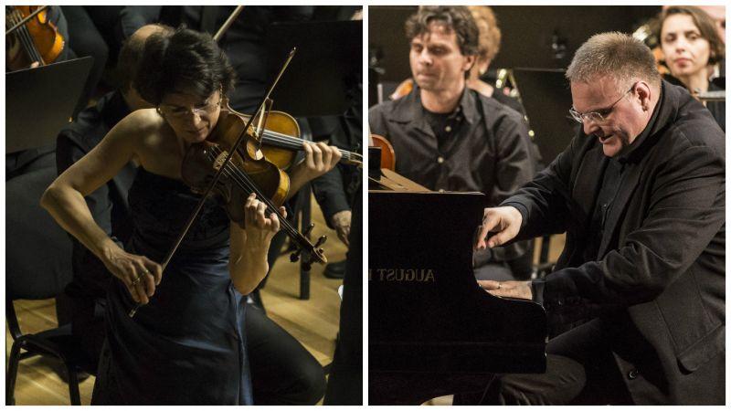 Recital de vioară şi pian la Filarmonica Piteşti