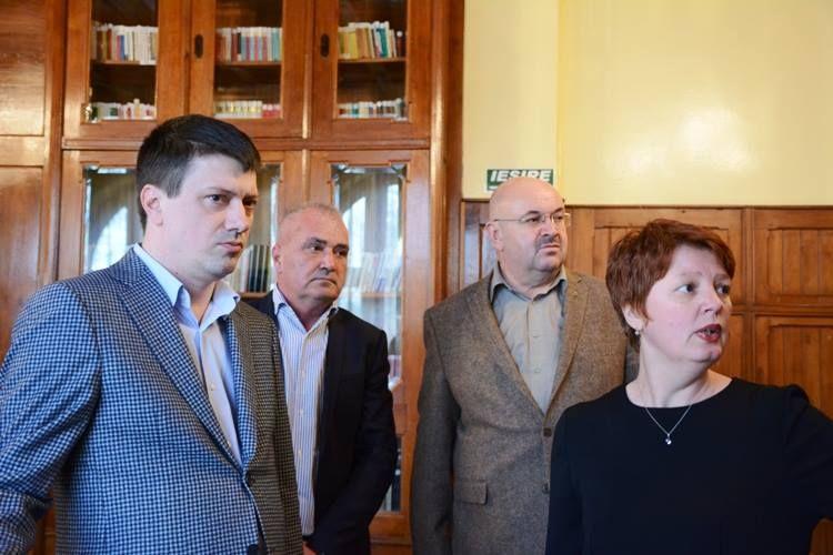 Ministrul Culturii a vizitat Vila Florica