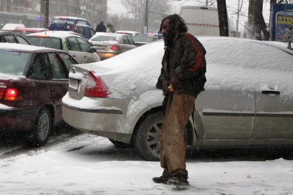 Adăpost de iarnă pentru persoanele defavorizate