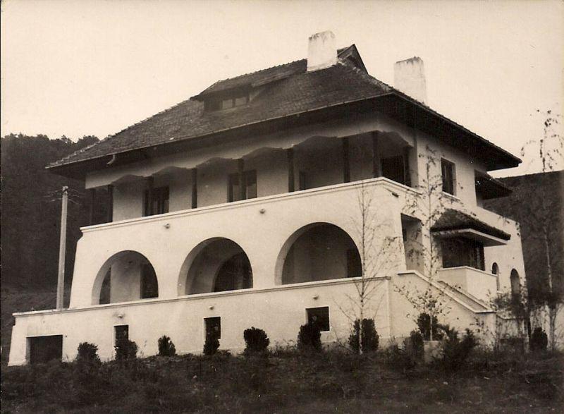 Medalion Dinu Lipatti la Casa memorială de la Leordeni