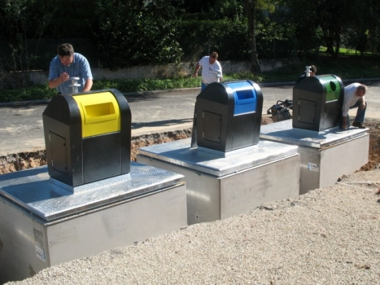 700 de platforme îngropate de gunoi în Piteşti