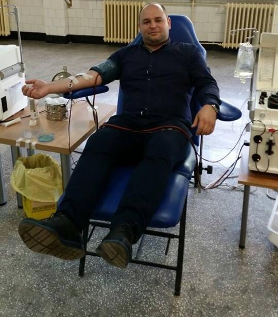 Candidaţii ALDE au donat sânge
