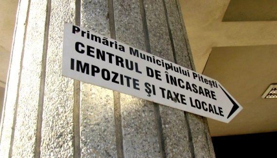 Taxele şi impozitele în Piteşti, neschimbate