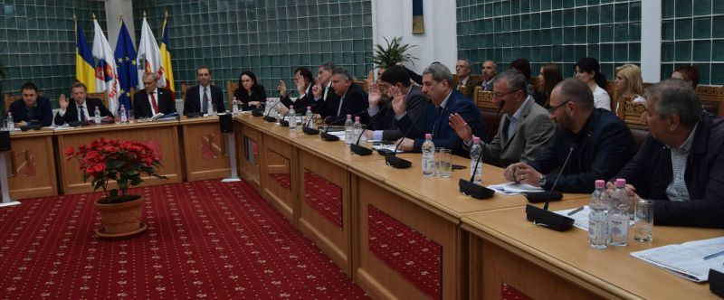 Bugetul Mioveniului, votat de Consiliul Local