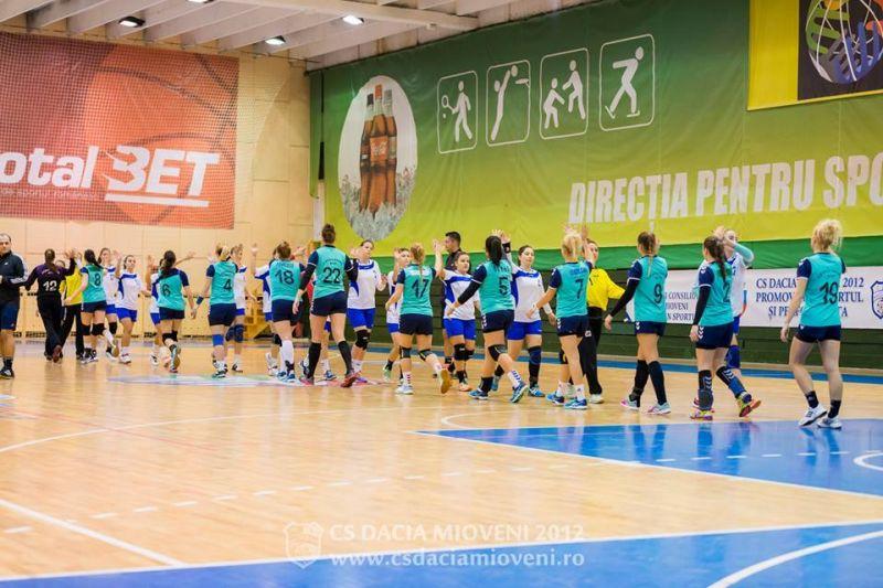 Sportivii CS Dacia Mioveni 2012, în competiții