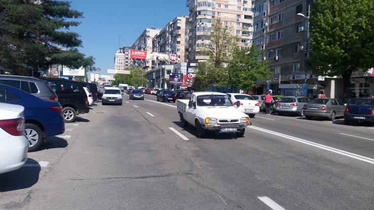 Bulevardul I.C. Brătianu rămâne liber accesului auto