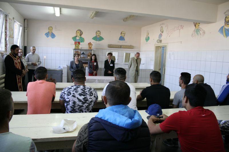 Sărbătorile pascale la Penitenciarul Mioveni