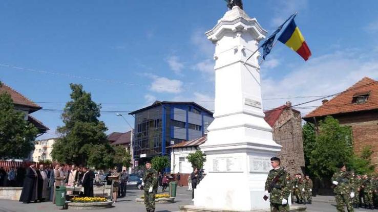 Monumentul de pe strada Crinului va fi reabilitat