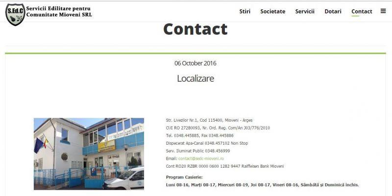 La Mioveni, factura de utilități se trimite pe email