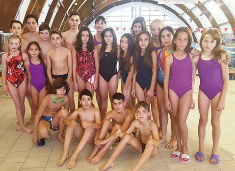 Înotătorii din Mioveni, concurs la Izvorani
