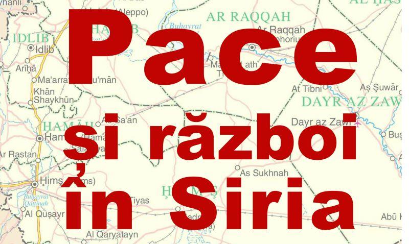 Pace și război în Siria, la Centrul Cultural Pitești