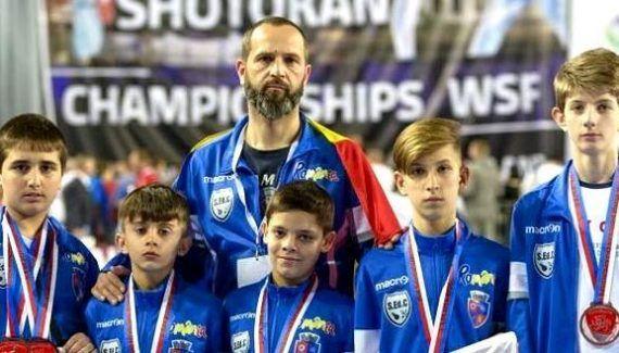 Karatiştii din Mioveni, concurs mondial în Bulgaria