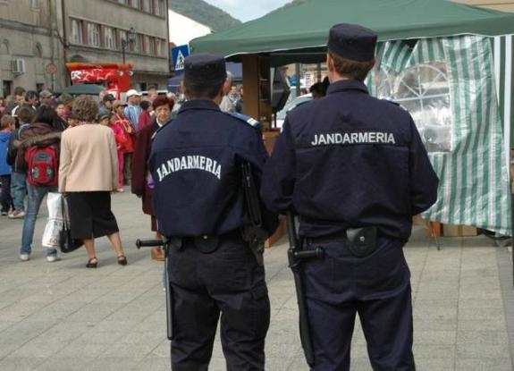 Jandarmii, mai multe acţiuni de 1 mai