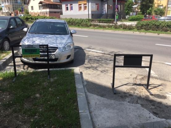Loc de parcare rezervat? Mai gândiţi-vă!