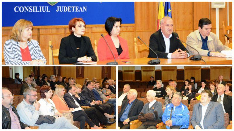 Întâlnire culturală la Consiliul Județean Argeș