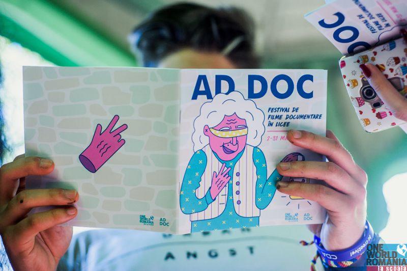 AdDOC: Adolescenti si documentare sau primul rod al muncii elevilor pasionati de Cluburile de Film Documentar