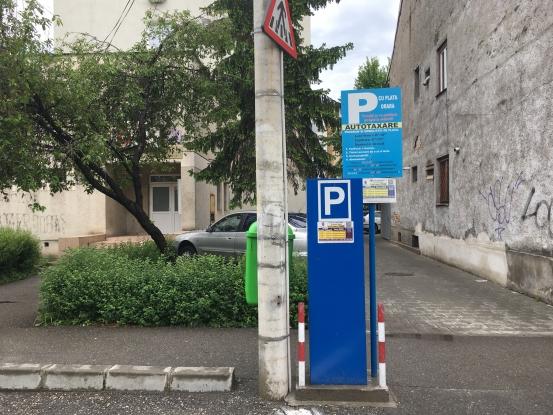 1.000 de amenzi pe lună pentru neplata parcării