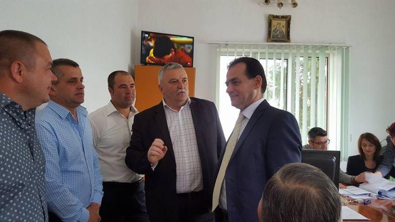 Candidatul la primăria Valea Danului, lansat în prezența lui Ludovic Orban