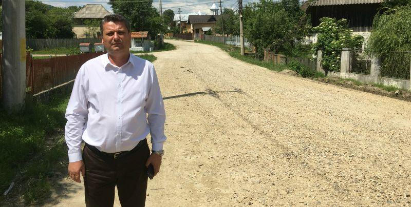 Drum important din Coşeşti, reabilitat la insistenţele primarului