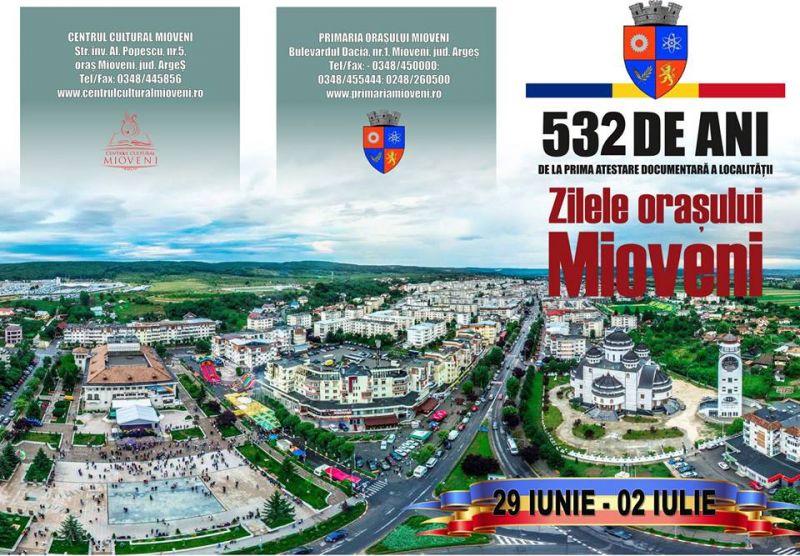 Se apropie Zilele Orașului Mioveni