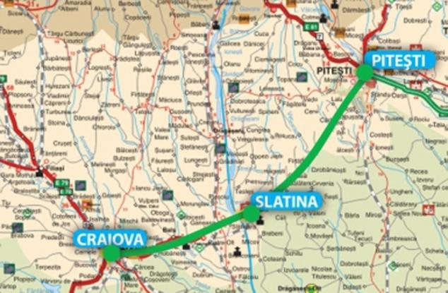 Tronson din drumul expres Piteşti-Craiova, la licitaţie