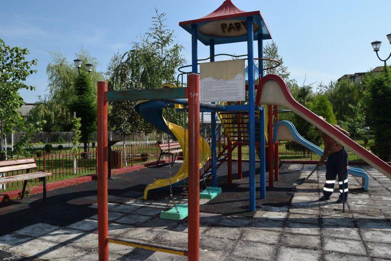 Mioveni: Parcul Tineretului a intrat în reabilitare