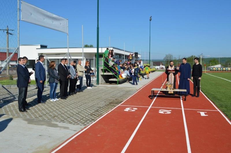 O nouă bază sportivă modernă, la Mioveni
