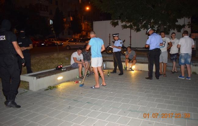 Poliţia Locală, în acţiunea Mătura