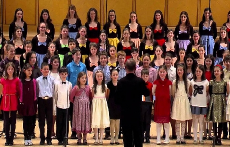Corul de Copii Radio în Concertul de Paşte al Filarmonicii Piteşti