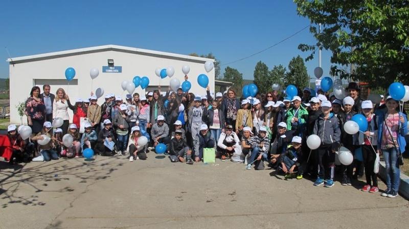 Elevii au vizitat staţia de epurare Mioveni