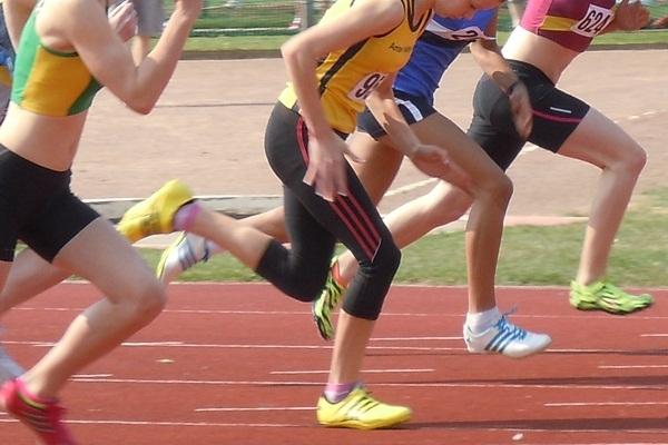 Invazie de alergători la stadionul Nicolae Dobrin