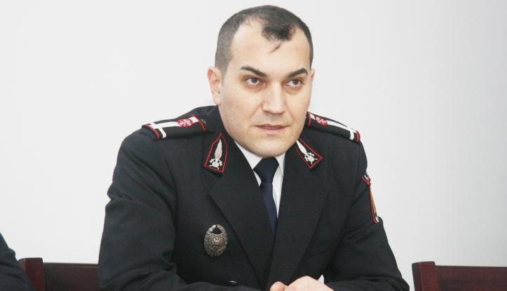 Maiorul Bogdan Olar, şef cu acte în regulă la ISU