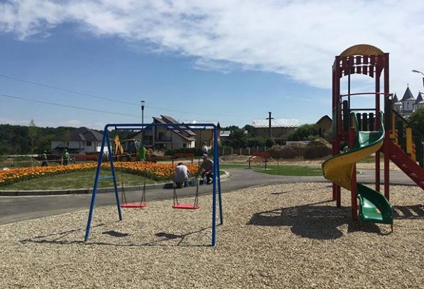 Un nou parc în Piteşti