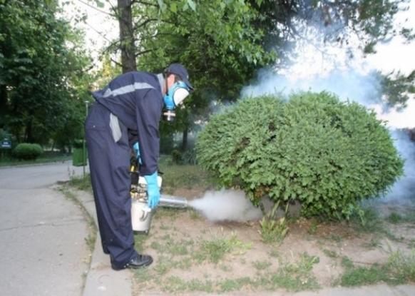 Atenţie! Se stropeşte cu insecticid!