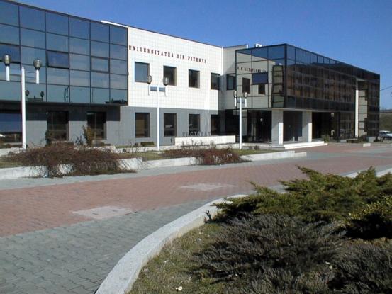 Un nou corp de clădire, finalizat la Universitatea Piteşti. După 15 ani!