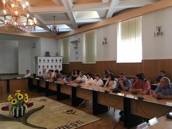 Planul de Mobilitate Urbană al Piteştiului a fost prezentat în dezbatere publică
