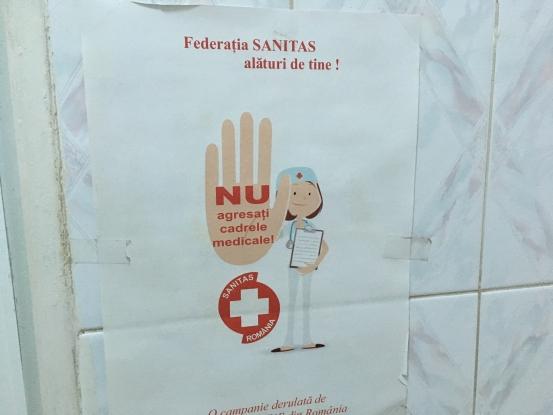 Campanie anti-violenţă la Spitalul Judeţean