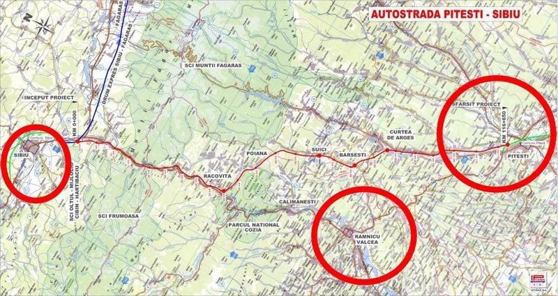 Hai mai repede cu autostrada Piteşti-Sibiu!