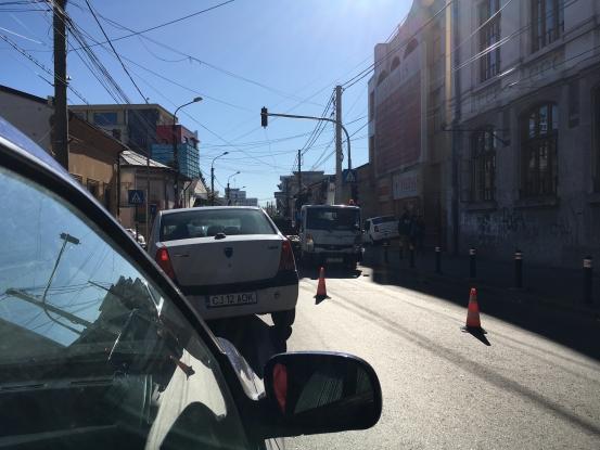 Schimbare în trafic  la Colegiul Zinca Golescu din Piteşti