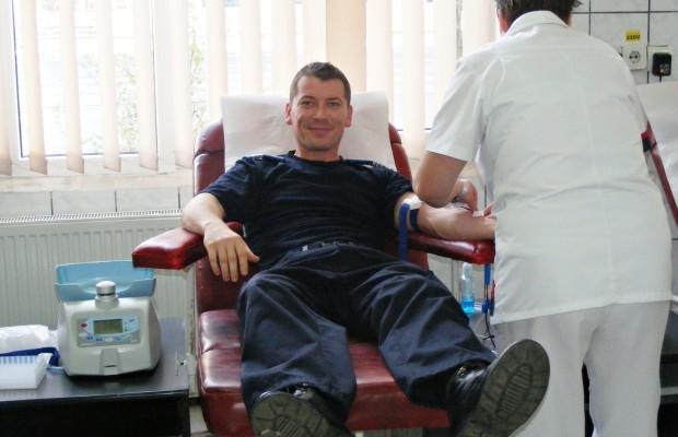 Jandarmii argeşeni au donat sânge