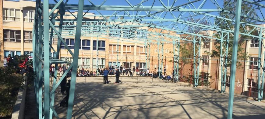 Jandarmii, în acţiune la Şcoala Ion Pillat