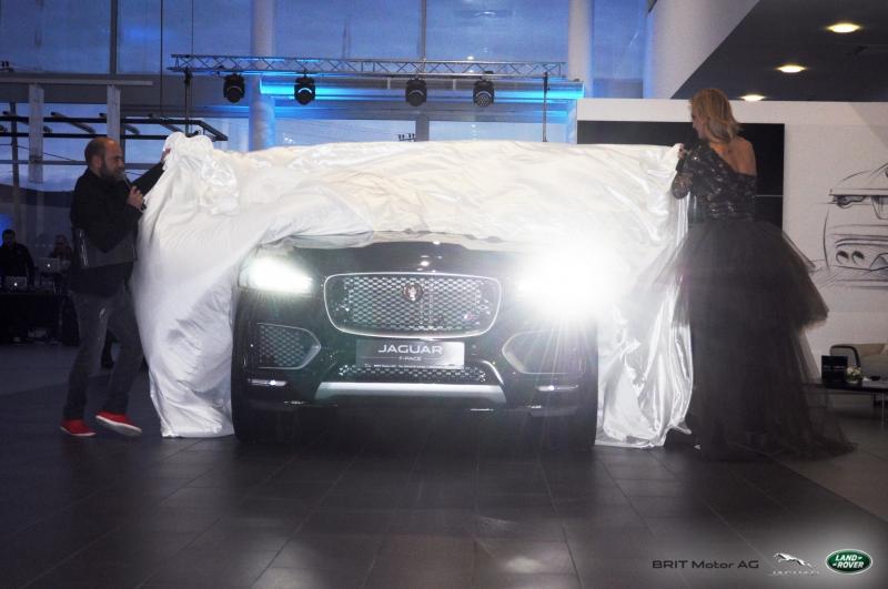 Lansarea oficială a noului Jaguar F-PACE la BRIT Motor AG Piteşti