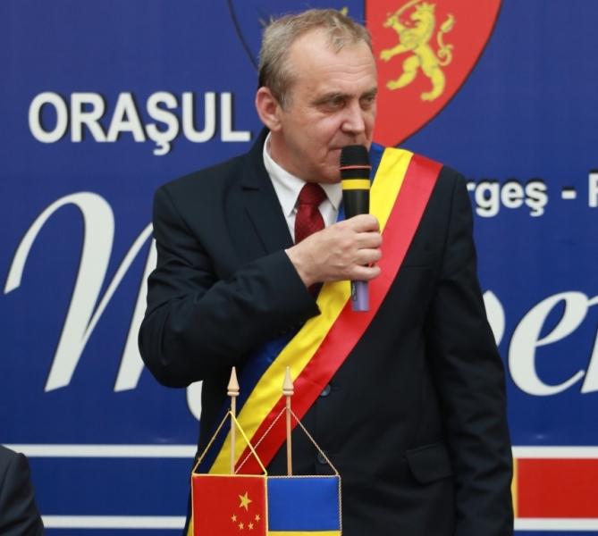 Primarul Ion Georgescu, mesaj de Paşti