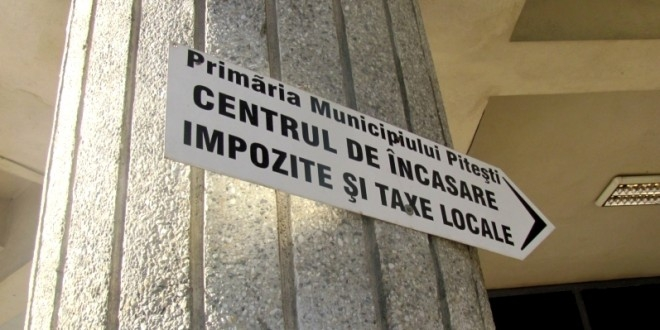 Facilitate la plata taxelor şi impozitelor în Piteşti