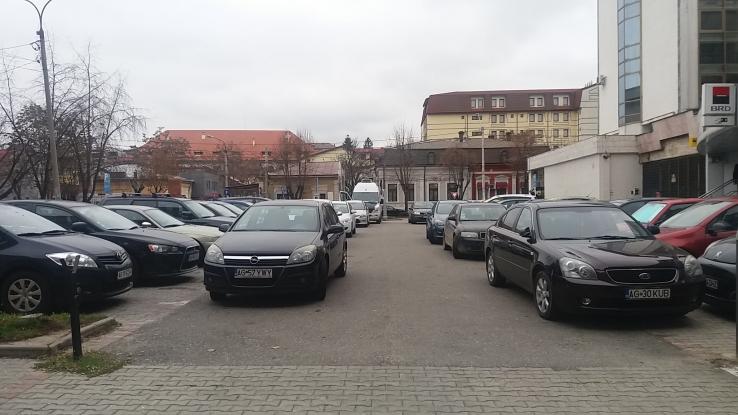 Măsură importantă în parcările din Piteşti