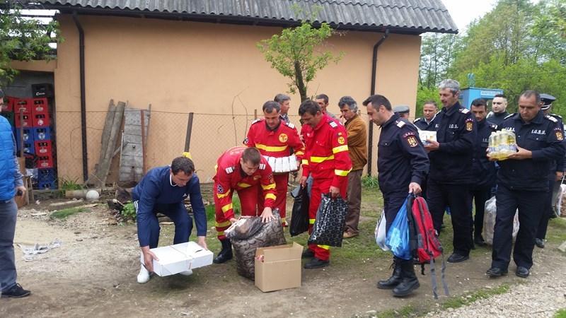 Salvatorii de la Mioveni au adus bucurie în sânul unei familii